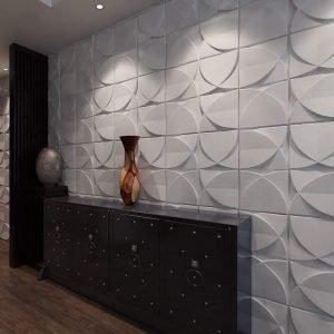 3d fiber wall designs