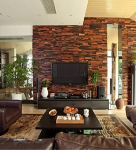 mosaic wood walls