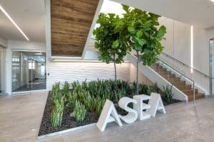 modern commercial spaces